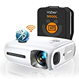 YABER Proyector Bluetooth Pro V7 9000L 5G Full HD 1080P WiFi, Corrección Trapezoidal...