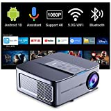 Proyector Android TV10 340ANSI,Artlii Play3,Proyector 4K WiFi Bluetooth 1080P...